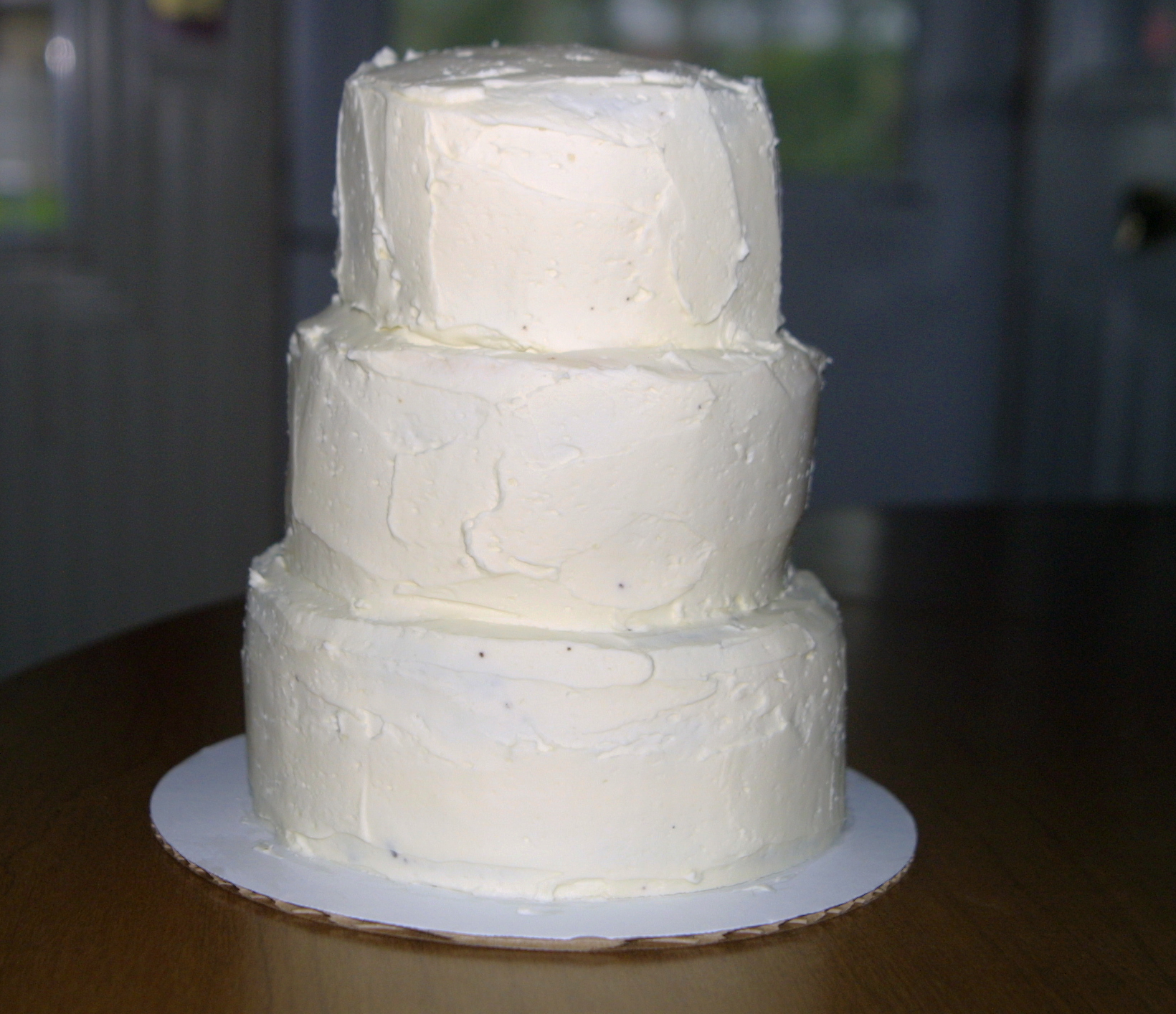 The wedding cake that wasn't